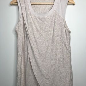 Lululemon Love Sleeveless Tank 8 Smoky Blush Layer
